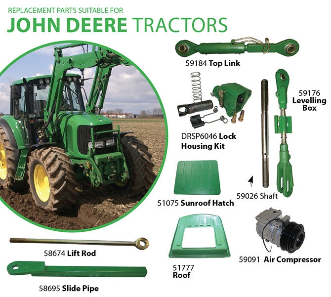 Tractor Restoration Parts : John deere fuel pump replacement free engine